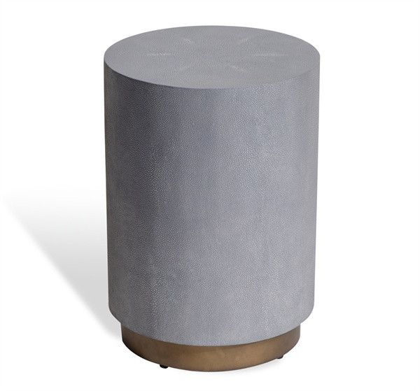 Kenzo Shagreen Drum Table design by Interlude Home