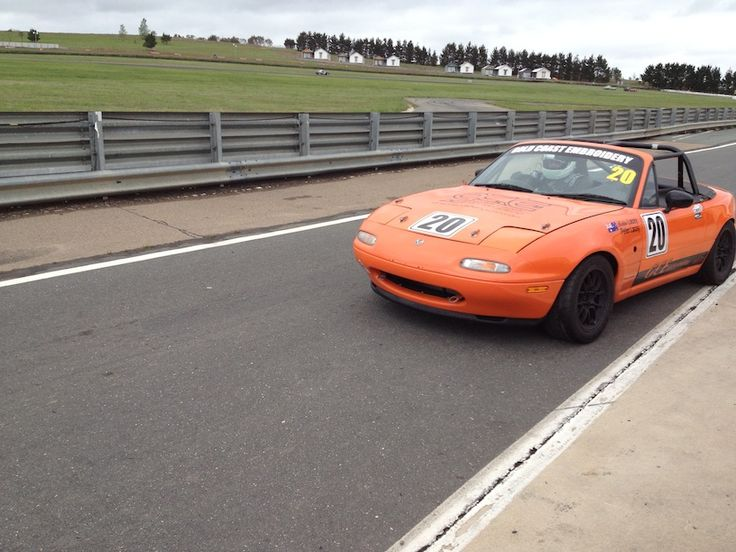 Queensland ranks have grown again with the Laceys orange NA MX5