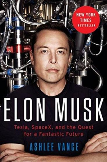 Elon Musk: Tesla, Spacex, and the Quest for a Fantastic Future by Ashlee Vance. Hailed as the 'definitive biography' of Elon Musk, the book gives a comprehensive account of his life, personality, his passion and what makes him one of the top entrepreneurs in the world today. Even if you are not a fan, you can surely learn a lot from the book and get inspired.