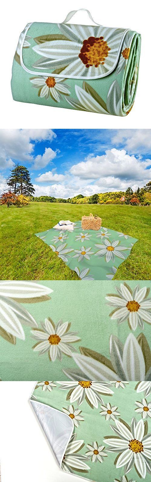 Blankets and Liners 111261: Extra Large Picnic Blanket And Play Mat With Waterproof And Machine Washable Backing -> BUY IT NOW ONLY: $129.99 on eBay!