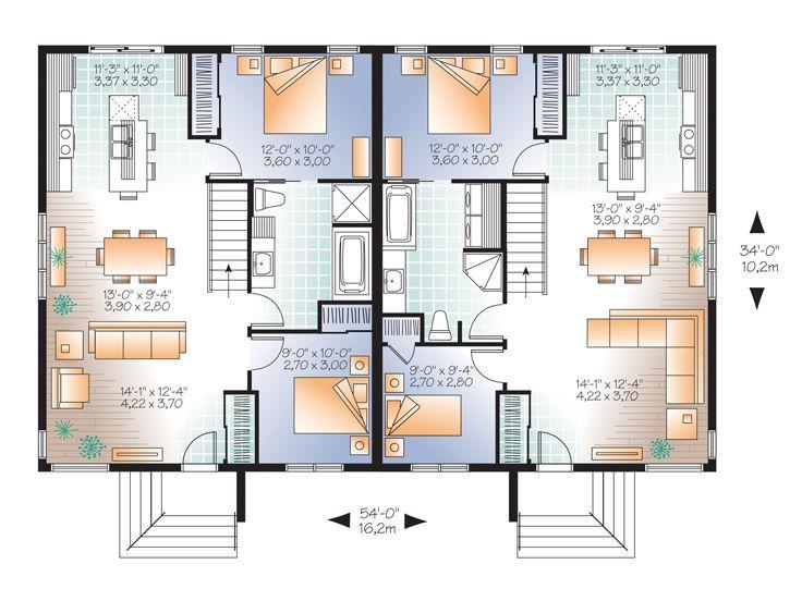 Les 34 Meilleures Images Du Tableau Duplex Sur Pinterest | Plans