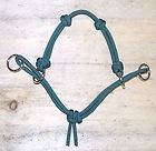 *NEW* 4 Knot MODIFIED Side Pull Horse Rope Hackamore Bitless Bridle Attachment
