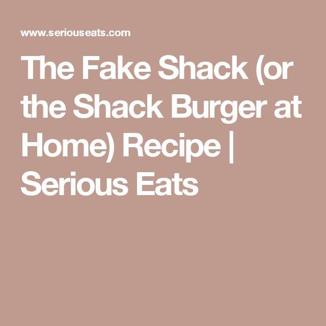 The 25+ best Shack burger ideas on Pinterest | Shack sauce ...