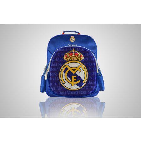 Real Madrid Backpack - Raised Logo, White
