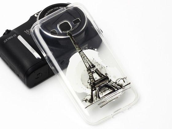 Piękna Wieża Eiffla na etui do modelu Samsung Galaxy Core Prime. Więcej na www.etuo.pl