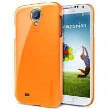 Forro Galaxy S4 Spigen SGP Case Ultra Thin Air Series - Tangerine Tango  Bs.F. 151,30