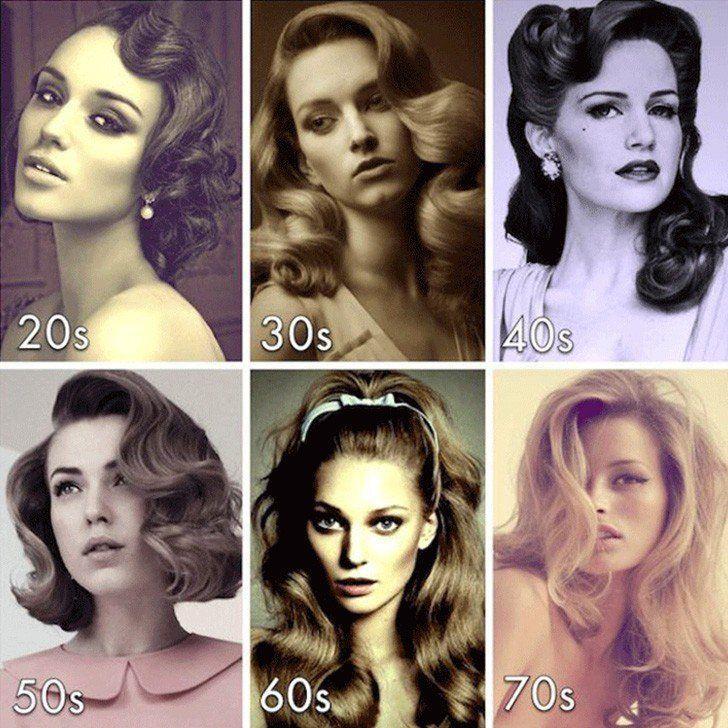 DIY Pin Curls: Harmlose Art, vintage auszusehen - # look # curls #vintage - #new