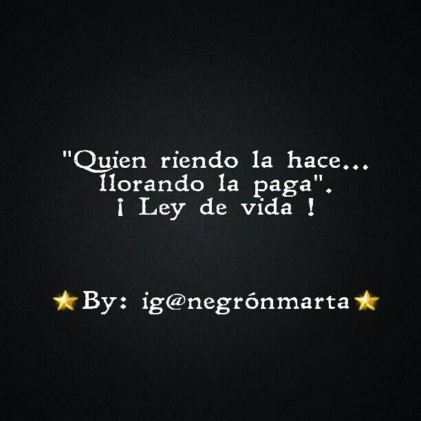 #karma - (By me: ig@negrónmarta)