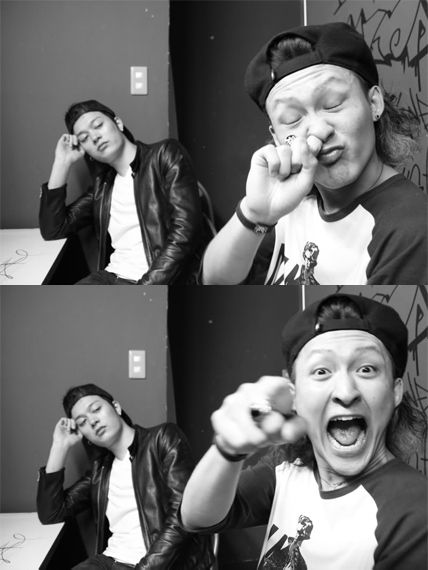 Toru Yamashita and Ryota One Ok Rock