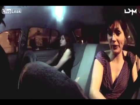 Taxi Cab Prank. Psycho Suicide Zombie Werewolf Transformation in less then two minutes.