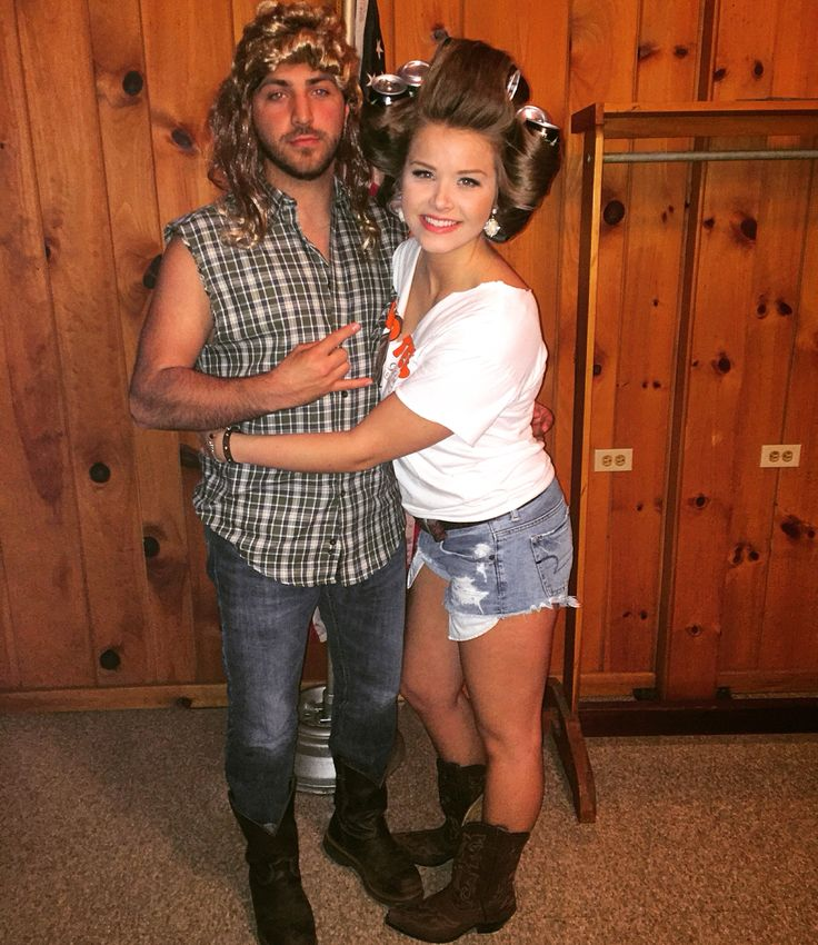 Halloween Costume: Joe Dirt & His  Sister Funny Adult Costume