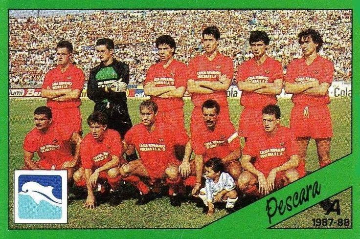Pescara 1979-1980 In piedi da sx Galvani Gatta ...