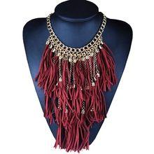 Многослойная старинные ожерелья и подвески большой кисточкой себе ожерелье женщин ожерелье этнические украшения для персонализированные подарки(China (Mainland))