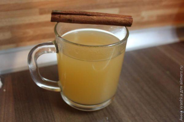 Безалкогольный яблочный пунш