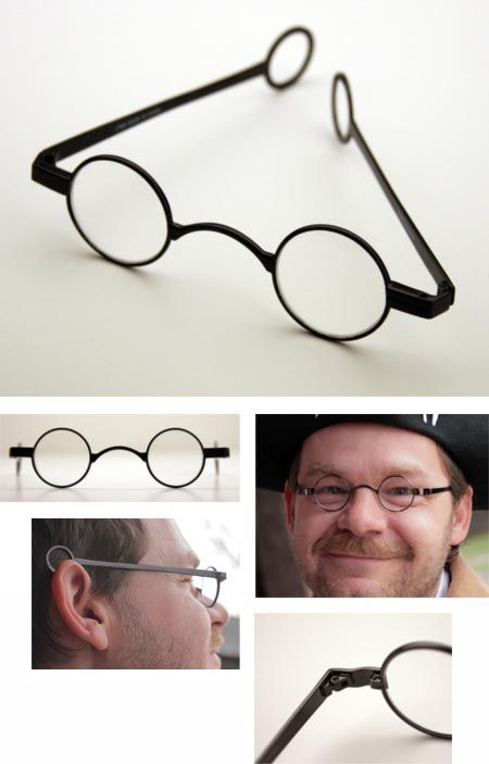 Modern Mens Eyeglass Frames : 1740-1800 reproduction glasses frames. You can fill them ...