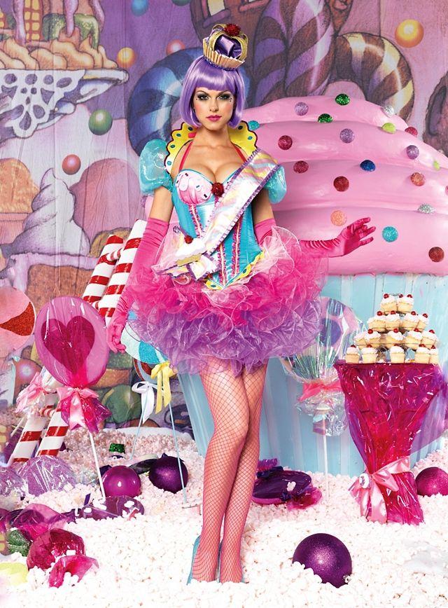 Sexy Cupcake Queen Premium Edition Costume