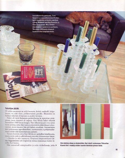 Kivisaarentie 3 livingroom 2003