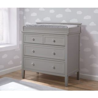 Delta Children Epic Signature 3-Drawer Dresser, Grey | Overstock.com Shopping - The Best Deals on Kids' Dressers