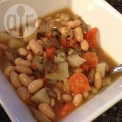 Cassoulet végétarien à la mijoteuse @ qc.allrecipes.ca