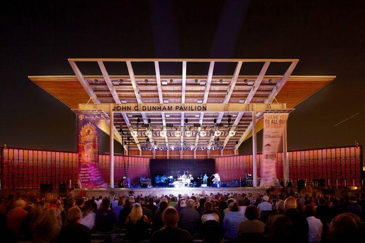 Dunham Pavilion at Aurora RiverEdge Park / Muller&Muller