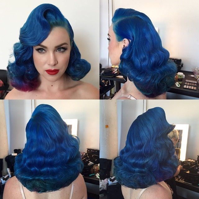 Get this gorgeous rockabilly look with our large range of hair dye <3