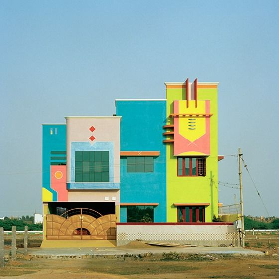 Indian Houses Inspired by Ettore Sottsass /