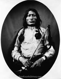 Henery Oscar One Bull was a Lakota man best known for being the nephew and adopted son of the great holy man, Sitting Bull. He was also the younger brother of White Bull, a famous Lakota warrior and chief contributor to Stanley Vestal's biography of their uncle. He wore his Uncle's shield during the Battle of Little Bighorn. One Bull joined his uncle in fleeing to Canada following the Battle of the Little Bighorn in 1876. One Bull stood by Sitting Bull at his surrender.