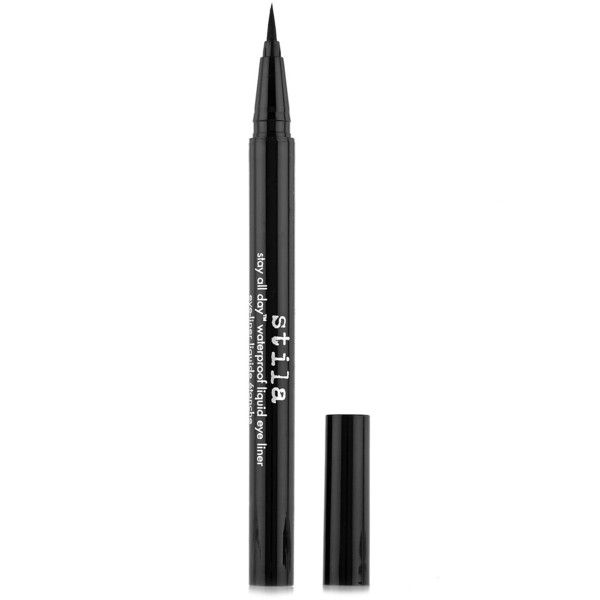 Stay All Day Liquid Eye Liner 0.5ml M&S ($17) ❤ liked on Polyvore featuring beauty products, makeup, eye makeup, eyeliner, beauty, cosmetics, eyes, liquid eye liner, liquid eyeliner and liquid eye-liner