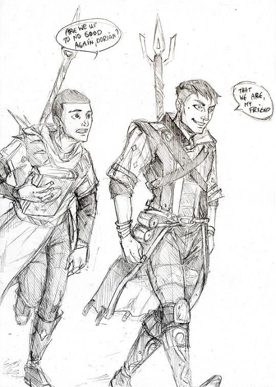 Young Felix and Dorian