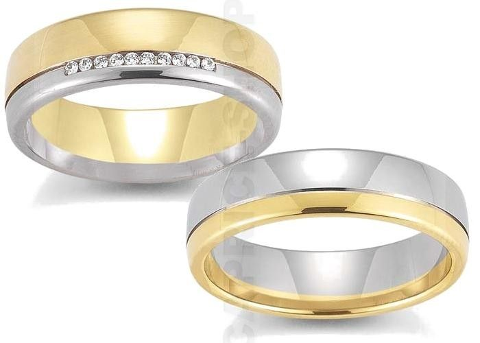 Wedding rings in pastel colors! Verighete Gerstner 28224(25)