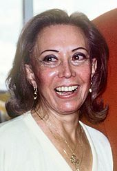 June Foray, most excellent voice artist. For WB cartoons, voiced Granny (Tweety cartoons) from 1955. Probably best known as voice of Rocky the Flying Squirrel (Jay Ward Productions, not WB).