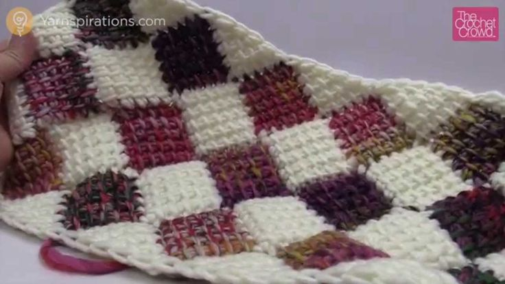 Entrelac in Rectangle. Learn how to make a perfect size bed spread using Entrelac in a rectangle around the centre instead of doing rows. Get more informatio...