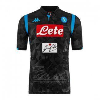 59d9f80945905 Camiseta Napoli Segunda 2018-2019