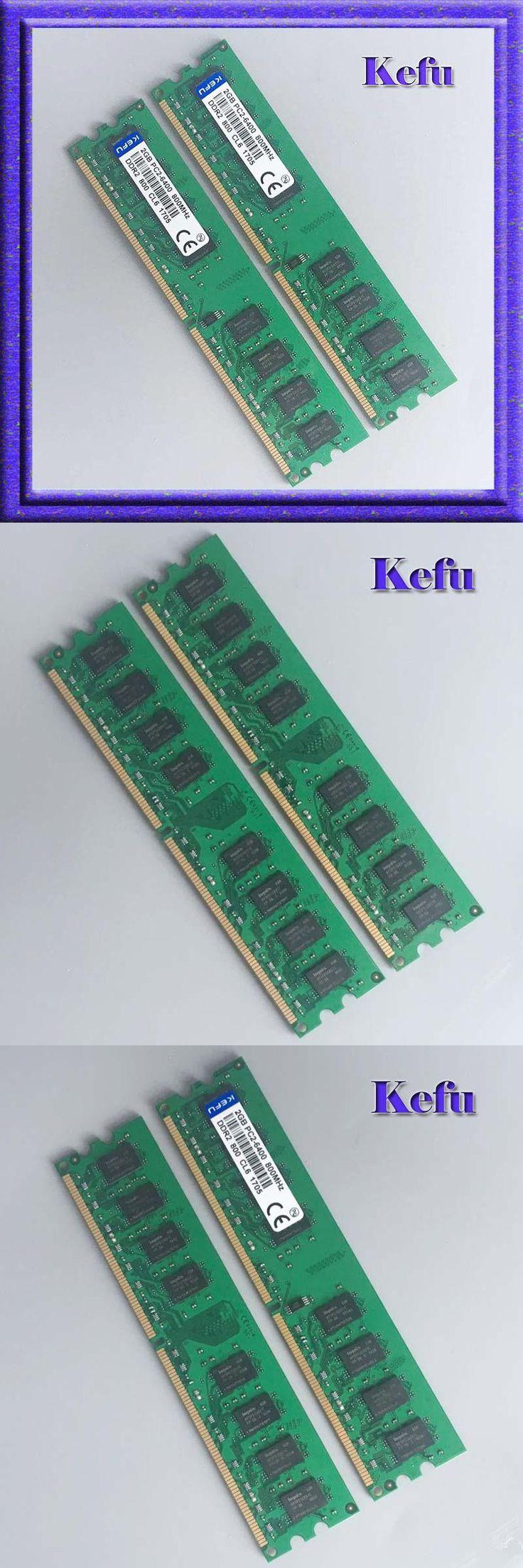 [Visit to Buy] 4G 2x2GB PC2-6400 DDR2 800 800Mhz 240pin DIMM Desktop Memory Low Density 4G RAM Upgrade Free Shipping #Advertisement