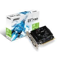 MSI N730-2GD3V2 (V809-1694R)  Afterburner Overclocking Utility - Support in-game video recording. - Support wireless control by android/iOS handheld devices. - Support built-in DX11 effect test. Video Capture - Predator - FREE bundle within Afterburner 3.0. - Support real-time video capturing. - Multi-thread supported. All Solid Capacitors - 10 years ultra-long lifetime (under full load). - Lower temperature and higher efficiency. - Extreme low ESR. Native HDMI 1.4a Output HDMI 1.4a…