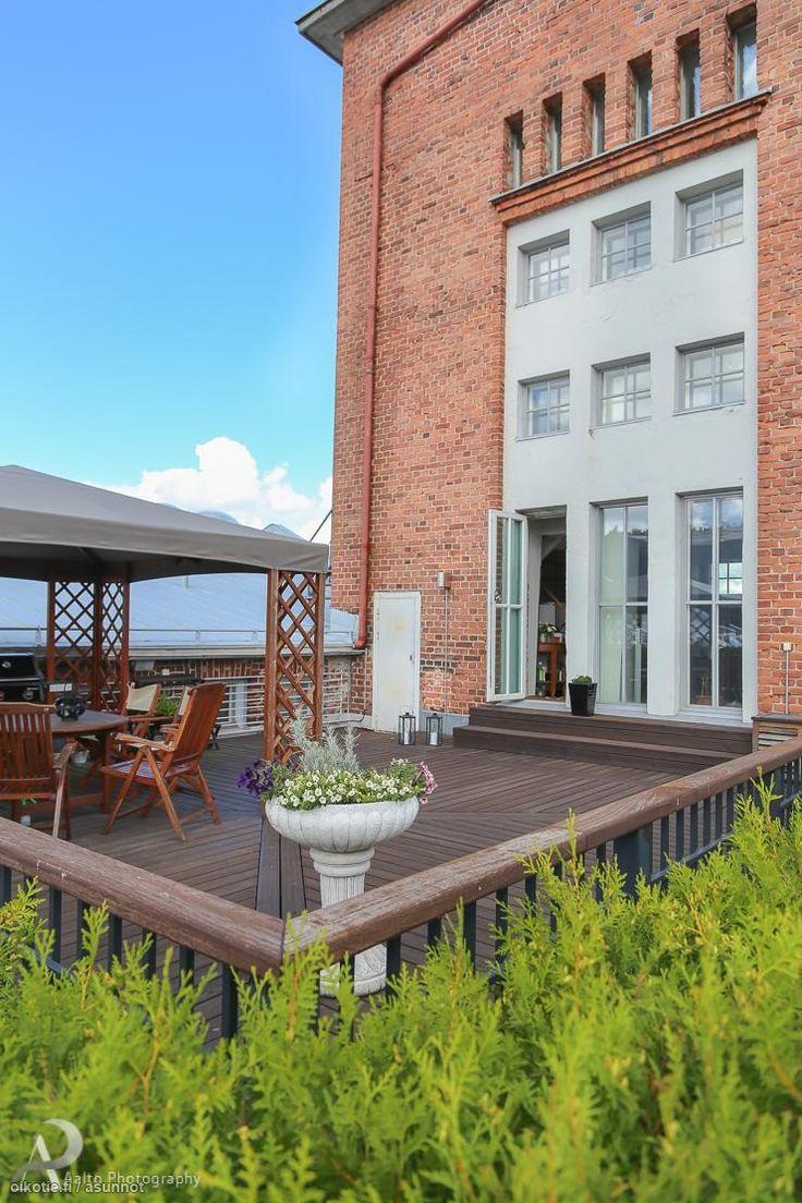 Myytävät asunnot, Haarlankatu 1, Tampere #oikotieasunnot #terassi #terrace