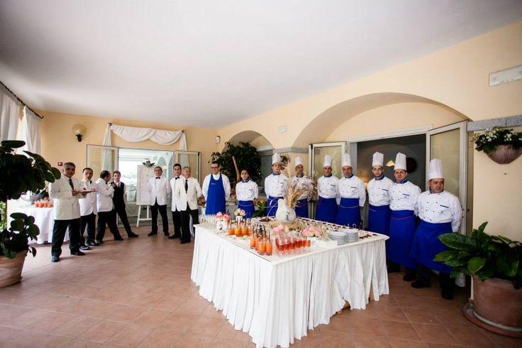 Sposarsi in Sardegna, la brigata al completo - cerimonia all'Hotel Gabbiano Azzurro