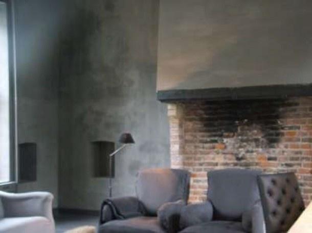 Mooie kalkverf muur door gaia krijt en kalk verf pinterest doors and gaia - Verf balken ...