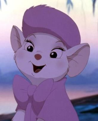I'm going to have to design a gijinka of her. Bianca, from Rescuers.