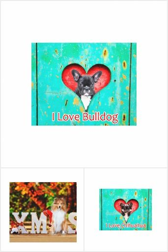 #Canvas #designs #frenchbulldog #chihuahua #sheltie #xmas #christmas #heart #pet #dog #present #gift