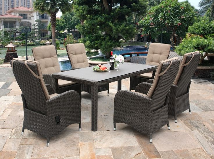 reclining rattan garden furniture is new for 2014 httpbloggardencentreshopping - Garden Furniture 2014 Uk