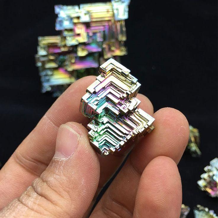 28.51$  Watch here - http://alifw3.shopchina.info/1/go.php?t=32809085400 - 100g Bismuth Crystals Specimen Bismuth Metal Bismuto Jewelry Child Children's Girlfriend Birthday Gift Laboratory Bi -100g 28.51$ #magazineonline