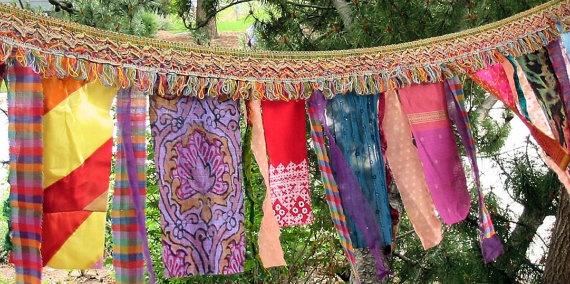 Gypsy Celebration Flags by Art to Go