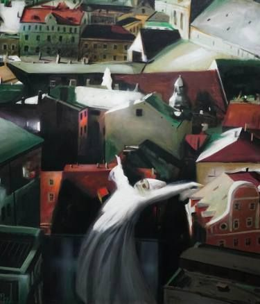 "Saatchi Art Artist Rolf Jansson; Painting, ""Flying dervish"" #art"