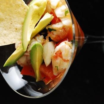 Shrimp Ceviche with Avacado Recipe - ZipList