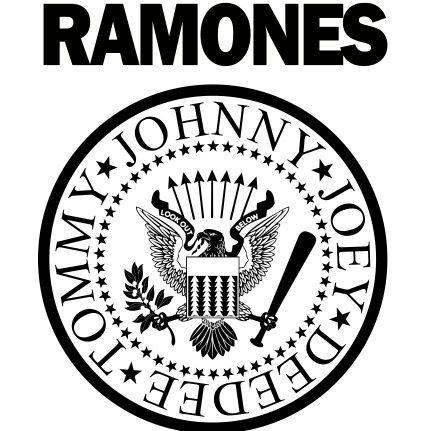 Estampa para camiseta Ramones 000308 - Customize Transfer
