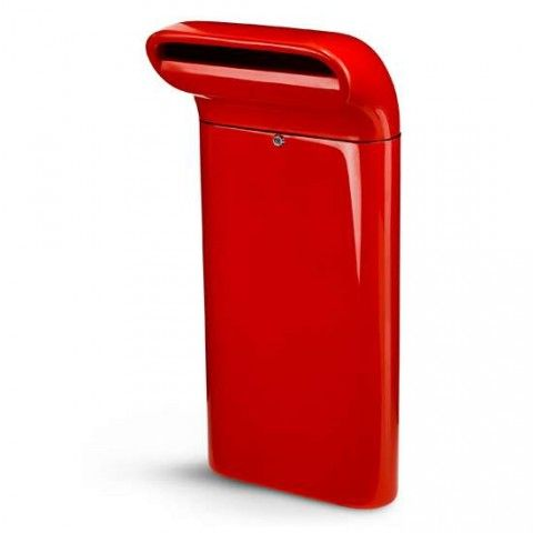 Modern mailbox.