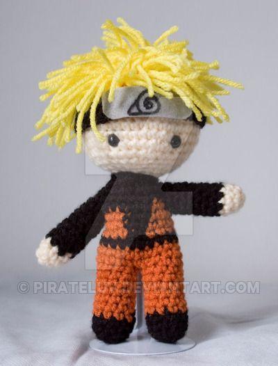 Naruto Shippuden amigurumi by pirateluv