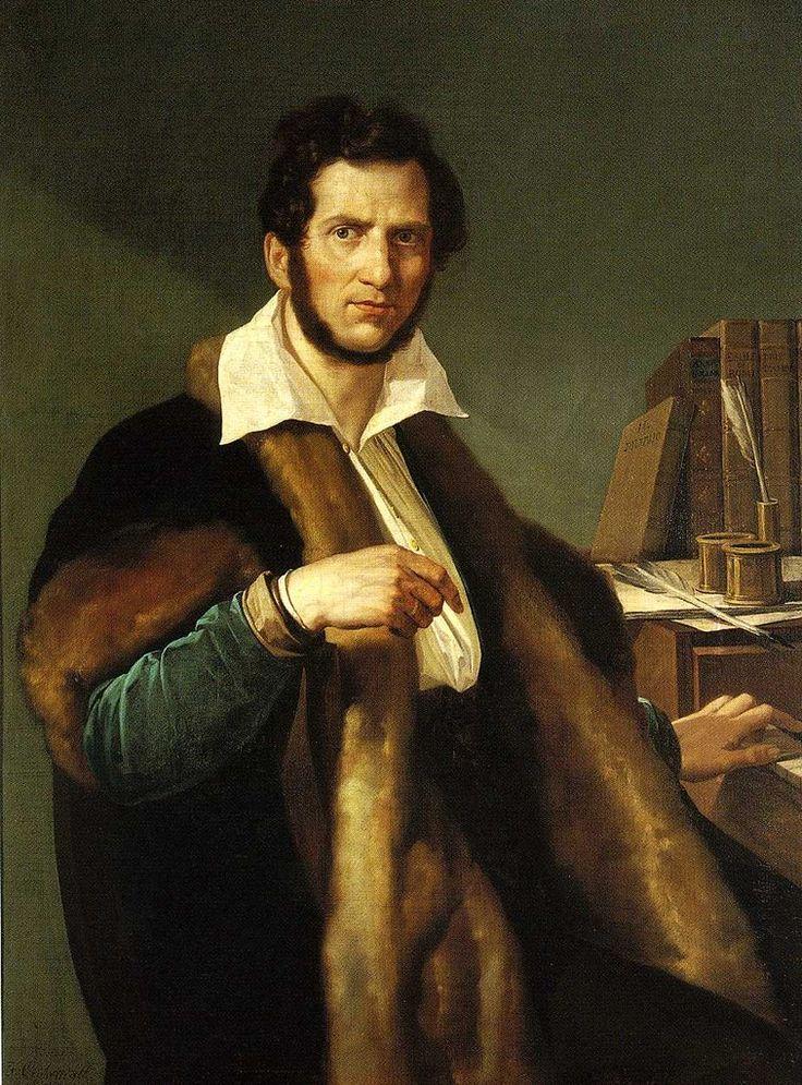 Ritratto Di Gaetano Donizetti Eseguito Ad Olio Su Tela Di