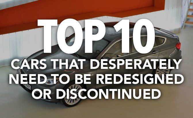 Some vehicles are in desperate need of a makeover while others just need to be axed. Find out AutoGuide.com's picks here.